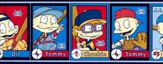 Rugrats Baseball Wallpaper Border