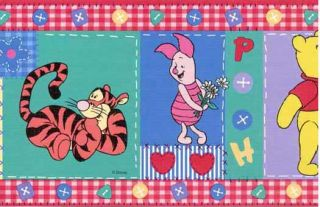 Disney Winnie The Pooh and Friends Wallpaper Border - Imperial