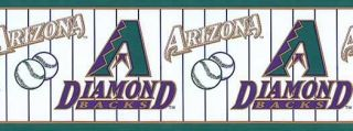 Arizona Diamondbacks Baseball Logo Wallpaper Border