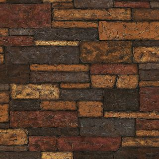 Clayton Charcoal Stone Texture Wallpaper Sidewall Chesapeake TLL41394