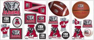 University of Alabama Peel and Stick Appliques