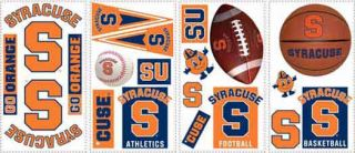 Syracuse University Peel and Stick Appliques