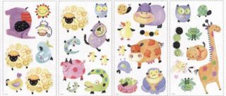 Polka Dot Piggy Peel and Stick Appliques