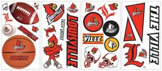 University of Louisville Peel and Stick Appliques