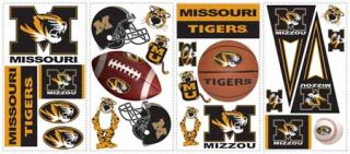 University of Missouri Peel and Stick Appliques