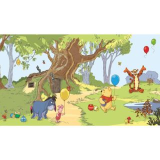 Walt Disney Kids Ii Pooh & Friends Mural