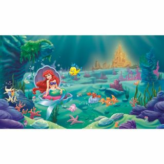 Walt Disney Kids Ii Littlest Mermaid Mural