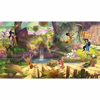 Walt Disney Kids Ii Disney Fairies Pixie Hollow Mural