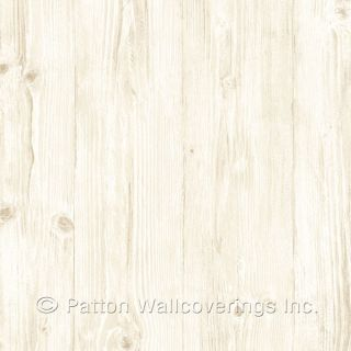 LL29500 Woodgrain Wallpaper Beige, Cream Illusions Norwall Wallcovering