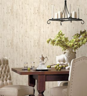 LL36206 Woodgrain Wallpaper Beige, Brown Illusions Norwall Wallcovering