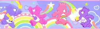 Care Bears Peel and Stick Wallpaper Border PS96300